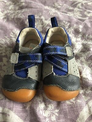 b6c85c8a2660 Clarks Baby Boy Shoes Size 4F