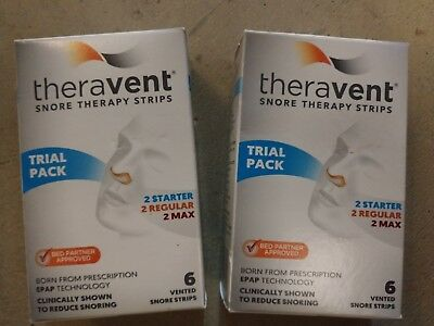 Theravent Trial Pack, 2 Starter, 2 Regular, 2 Max Lot Of (2)