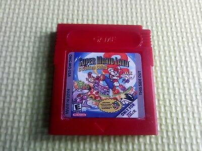 Super Mario Land 2 DX Rom Hack Game Boy FULL COLOUR now luigi playable