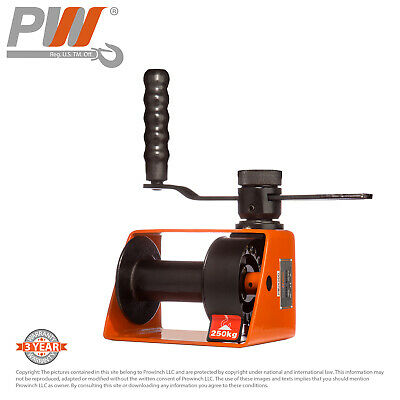 ProWinch Manual Winch 550 lbs. Automatic Brake