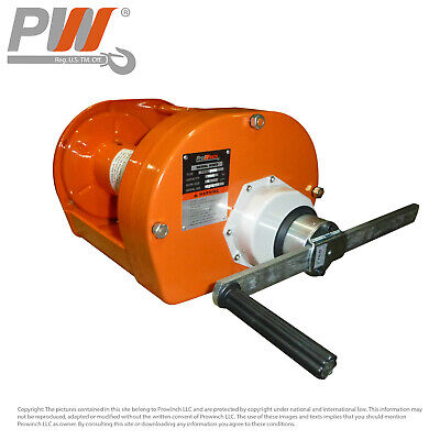 ProWinch Manual Winch 4,400 lbs. Heavy Duty Automatic Brake