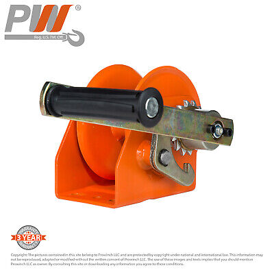 ProWinch Manual Winch 220 lbs. Heavy Duty Automatic Brake