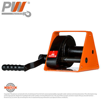 ProWinch Manual Winch 660 lbs. Automatic Brake