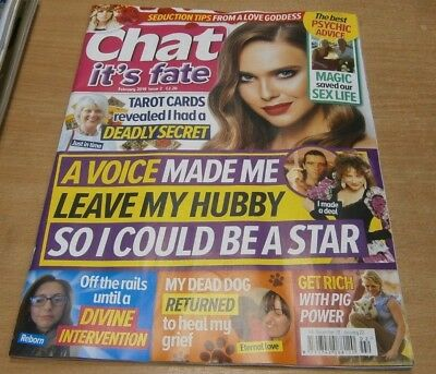 Chat It's Fate magazine #2 Feb 2019 Magic saved our sex life + Pig Power & more
