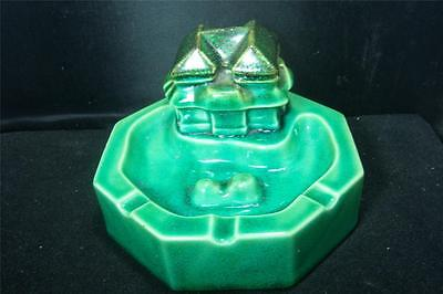 Vintage ASIAN Figural Ashtray Unique Well Marked Quality Excellent Condition