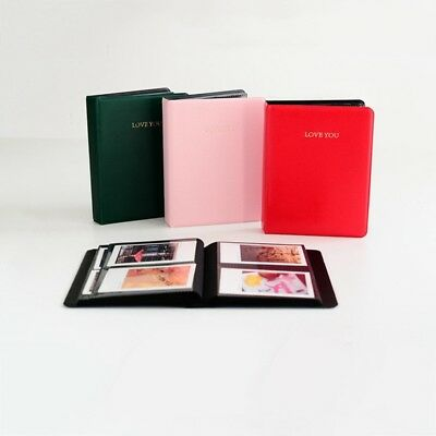 Photo Album Storage Book Slip-in Pocket Photograph Case For Polaroid Instax Mini