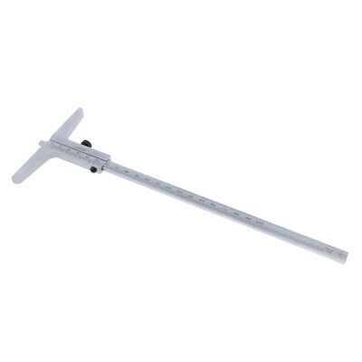 Stainless Steel Depth Gauge Gage Vernier Caliper 0-200mm Easy to Use