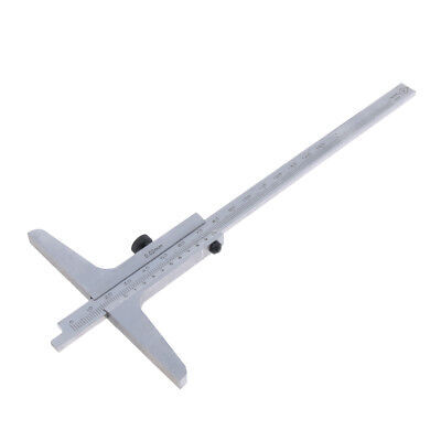Stainless Steel Depth Gauge Gage Vernier Caliper 0-150mm Easy to Use