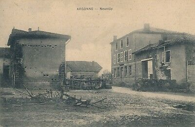 CPA - France - (55) Meuse - Argonne - Neuvilly