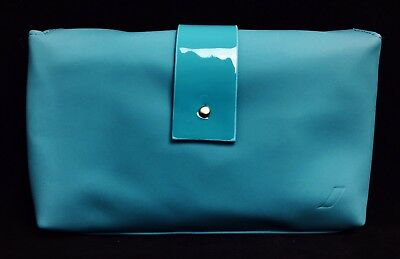 *BRAND NEW* AIR FRANCE Turquoise Business Class Airline AMENITY KIT Cosmetics