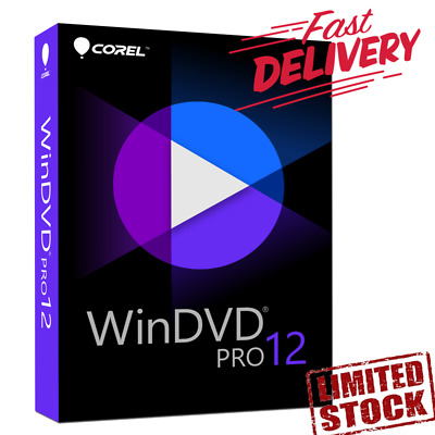 COREL WINDVD PRO 12 - Download Link + Activation Key - Extra Fast Delivery