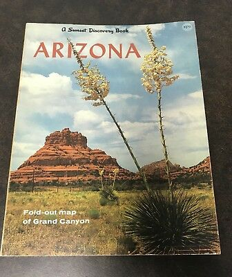 Vintage Magazine A Sunset Discovery Book - Arizona 1962