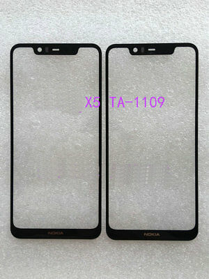 A+ New Front Outer Lens Glass Screen Penal For Nokia 5.1 Plus / Nokia X5 TA-1109