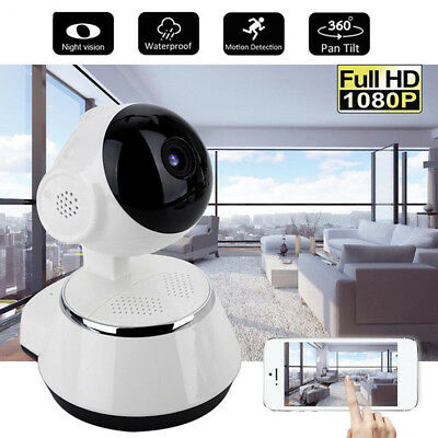 Wireless HD 1080p Kamera WiFi Security Surveillance IR Webcam Nachtsicht