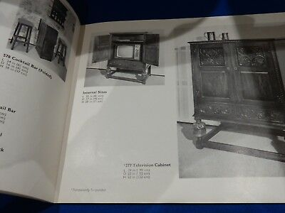 1960's JAYCEE contemporary furniture illustrated catalogue, published in 1968
