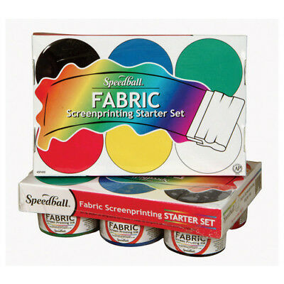 Speedball Art Products 4504 Fabric Screen Printing Starter Set