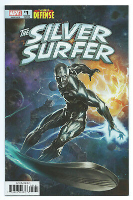 The Best Defense Silver Surfer 1 NM 1:25 Skan Variant 1st Print