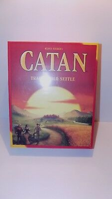 Mayfair Games Catan 3071 5th Edition Board Game Trade Build Settle NEW SEALED