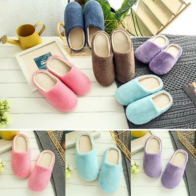 New Women Ladies Winter Home Indoor Floor Slippers Warm Soft Casual Shoes