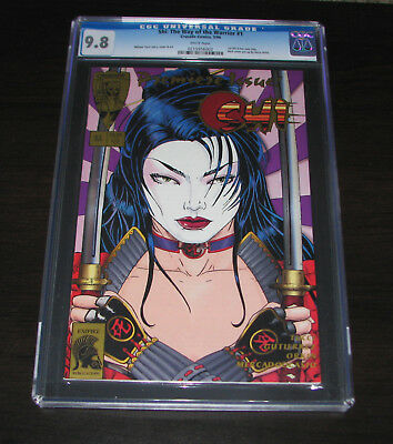 Shi: The Way Of The Warrior #1 (1994) Cgc 9.8 - First Print
