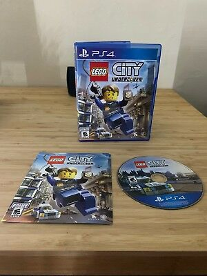 LEGO City Undercover (Sony PlayStation 4, 2017) PS4 US/Canada Complete