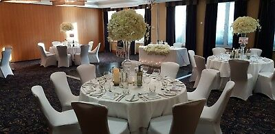 Tall Vases Centrepieces Glass Table Decor Wedding Party Decoration For Hire Only 30 00 Picclick Uk