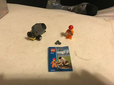 LEGO 5610 Cement Mixer RETIRED 100 COMPLETE WITH ORIGINAL INSTRUCTIONS