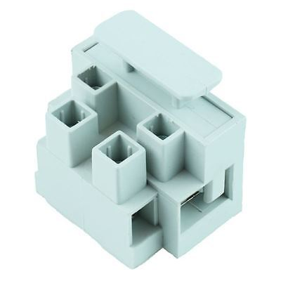 2-Pole Fused Fuse Terminal Block 10A