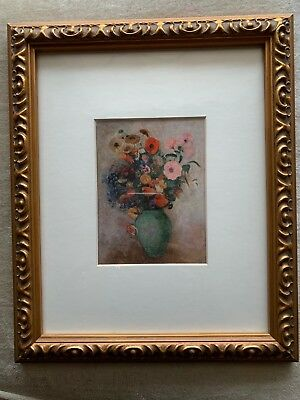 Denver Art Museum - Bouquet of Flowers in a green vase painting