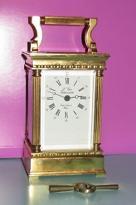 Attractive L'epee Timepiece Carriage Clock-Quality French Maker