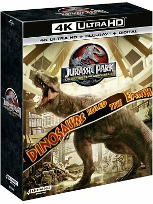 Jurassic Park Collection [Collection 25ème anniversaire - 4K Ultra HD + Blu-ray