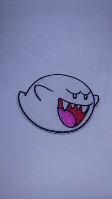 51e52b8f22a SUPER MARIO GHOST Boo sew iron on patch Embroidery -  3.99
