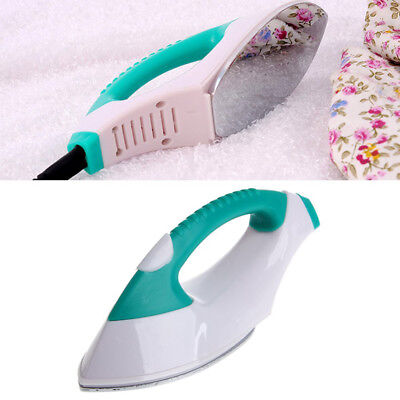 Mini Electric Iron Portable Clothes Dry Handheld Steamer Steam Irons Tra F1