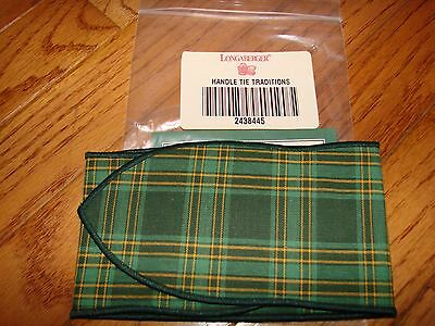 Longaberger Traditions Collection HOSPITALITY Basket Fabric Handle Tie *NEW*