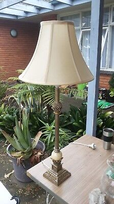 Vintage./retro lamp shade - Witch One (hand painted)