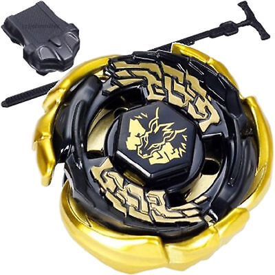 Beyblade 4D Top Rapidity Metal Fusion Fight Master Gold L-Drago Toys + Launcher