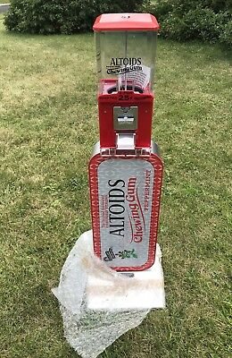 Altoid's Mints Candy Gum Gumball Coin Operated .25 Quarter Vending Machine ~NEW~