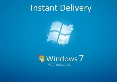 Microsoft Windows 7 Pro Professional 32/64-bit Product Key License Full Version