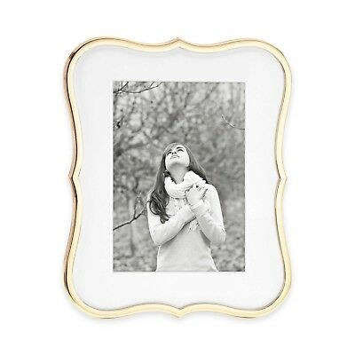 NIB kate spade new york Crown Point™ Gold 5-Inch x 7-Inch Picture Frame $60