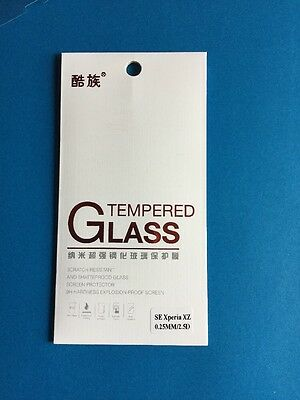 Premium Quality Ultra Clear Tempered Glass Screen Protector For Sony Xperia XZ