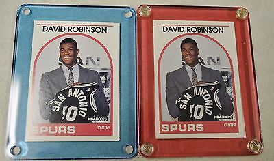 2 1989-90 Hoops NBA David Robinson Rookie #138 Mint in Holder