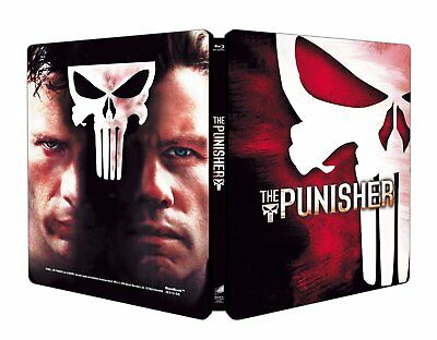 The Punisher - Limited Edition Steelbook (Blu-ray) Import - Region Free