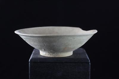 AUTHENTIC ANTIQUE CHINESE SONG DYNASTY Yaozhou GLAZED BOWL