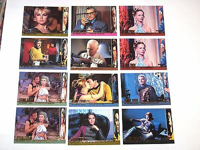 1998 Star Trek The Original Series Tos Season 2 Profiles Insert 12 Card Lot!