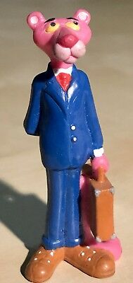 Vintage 1989 PINK PANTHER in Business Man Suit W Briefcase PP Logo A101 UA Rare!