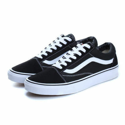 VAN OLD SKOOL Low Top Suede Canvas sneakers SK8 MENS/WOMENS Shoes Classic