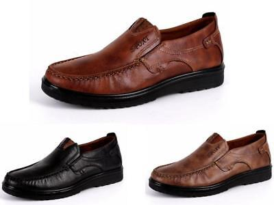Mens Cushion Walking Slip On Comfy Casual Shoes Driving Boat Dress Shoes Size AU
