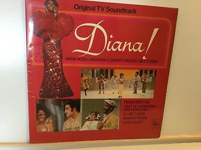 "Various ‎– Diana! (Original TV Soundtrack) - 12"" Vinyl LP Album-1971"