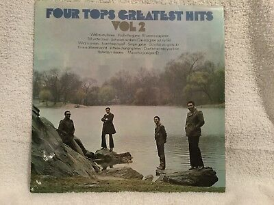 "Four Tops ‎– Greatest Hits Vol. 2 - 12"" Vinyl LP Album - 1971 -  STML 11195"