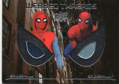 2017 Spider-Man Homecoming Dual Webbed Threads Costume Memorbilia WTD10